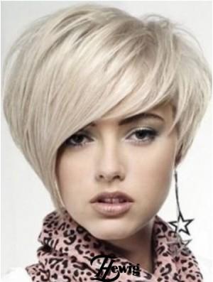 Human Hair Lace Front Wigs UK Short Length Boycuts