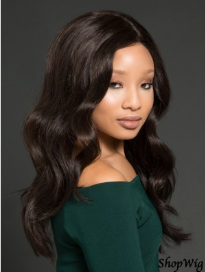 African American Wigs With Remy Human Full Lace Wavy Style