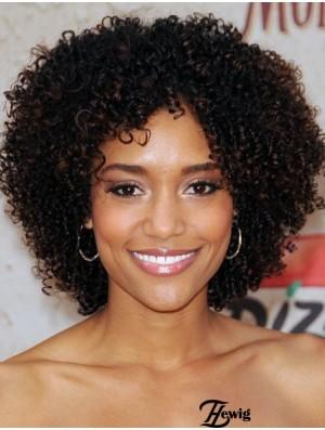 Kinky Black Short For Black Woman Humain Hair Remy