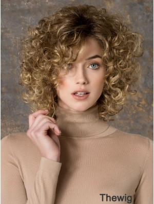 Long Synthetic Wigs With Capless Curly Style Layered Cut