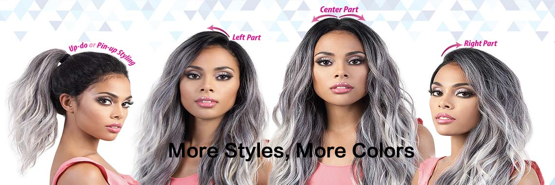 More Styles, More Colors for wigs